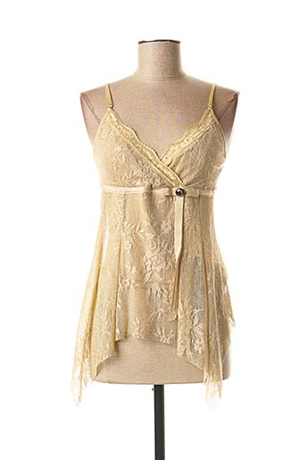 Top beige JUS D'ORANGE pour femme