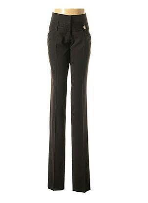 Pantalon chic noir E.LOCO pour femme