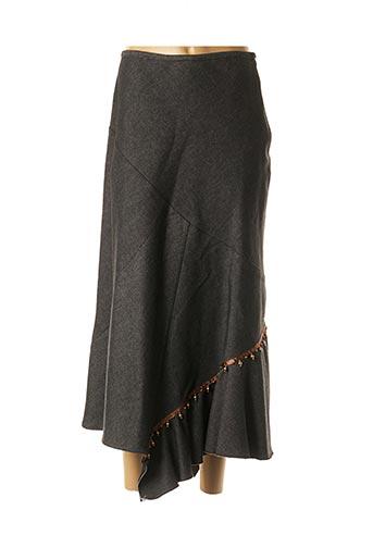 Jupe longue noir COCO MENTHE pour femme