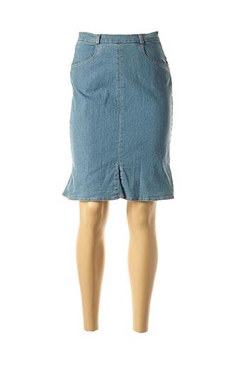 Jupe mi-longue bleu ROSA ROSAM pour femme