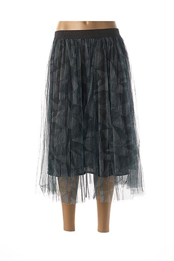 Jupe mi-longue bleu MOLLY BRACKEN pour femme