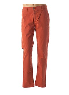 Pantalon casual orange SERGE BLANCO pour homme