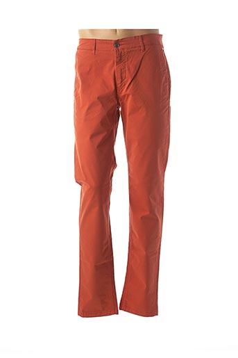 Pantalon casual orange SERGE BLANCO pour homme