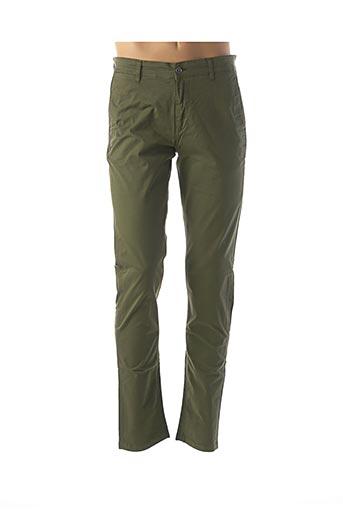 Pantalon casual vert SERGE BLANCO pour homme