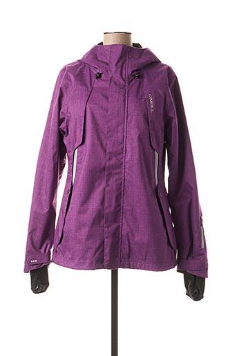 Veste casual violet O'NEILL pour femme