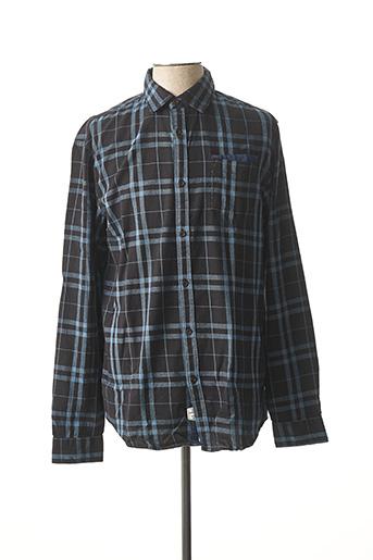 Chemise manches longues bleu LEE COOPER pour homme