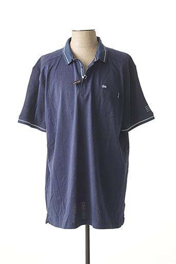 Polo manches courtes bleu TBS pour homme