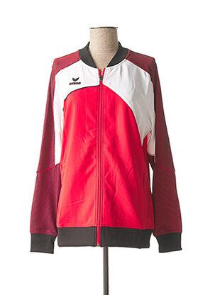 Veste casual rouge ERIMA pour homme