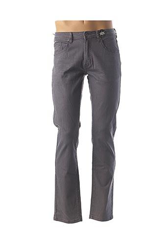 Pantalon casual gris CBK pour homme