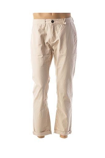 Pantalon casual beige BELLFIELD pour homme