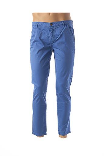 Pantalon casual bleu DOUYOUDOU pour homme