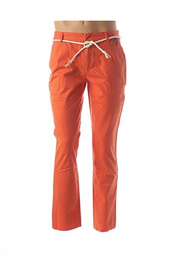 Pantalon casual orange ELEVEN PARIS pour homme