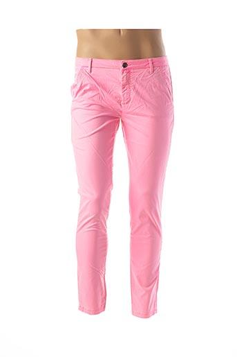 Pantalon casual rose DOUYOUDOU pour homme