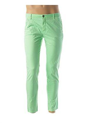 Pantalon casual vert DOUYOUDOU pour homme