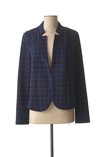 Veste casual bleu STREET ONE pour femme
