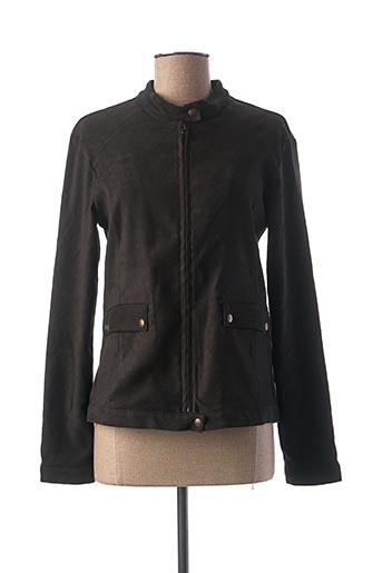 Veste casual noir THALASSA pour femme