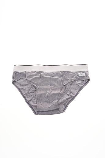 Slip/Culotte gris SLOGGI pour homme