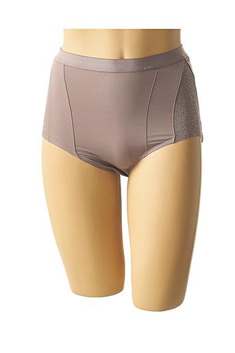 Slip/Culotte gris SLOGGI pour femme
