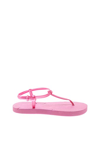 Tongs rose SURFBISCUS pour fille