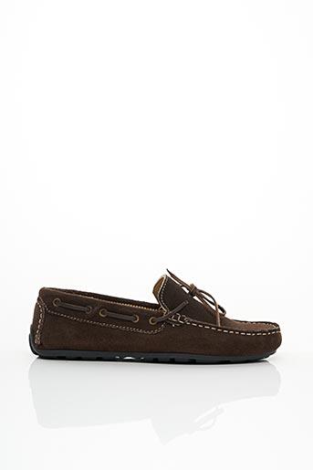 Chaussures bâteau marron MOZA-X pour homme