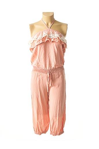 Combi-pantalon rose GOLDEN DAYS pour femme