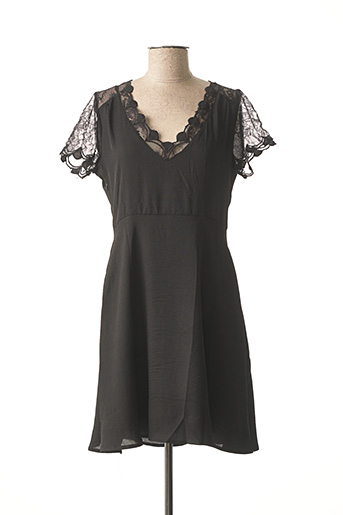 Robe courte noir ANDY & LUCY pour femme