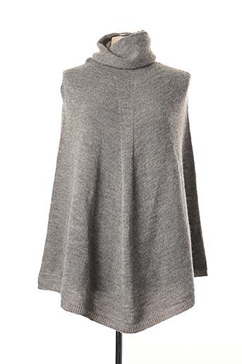 Poncho gris BY NORD COPENHAGEN pour femme