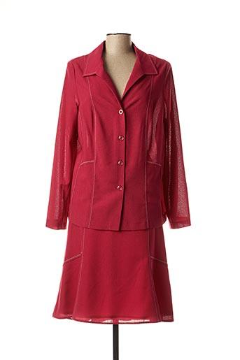 Veste/jupe rouge 20/20 pour femme