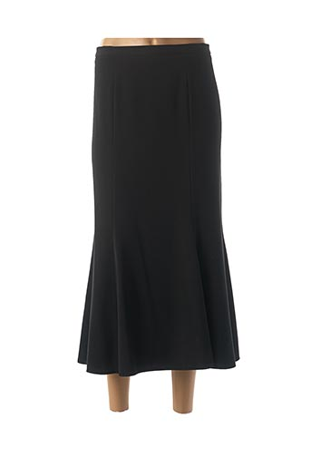 Jupe longue noir FINNKARELIA pour femme