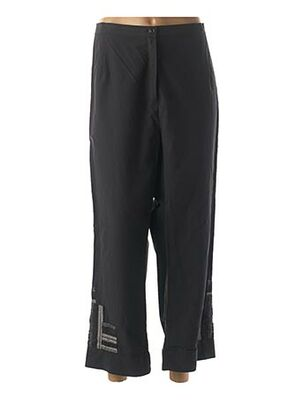 Pantalon casual noir GRIFFON pour femme