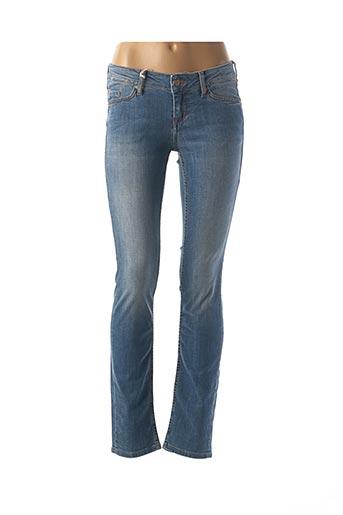 Jeans coupe slim bleu MUSTANG pour femme