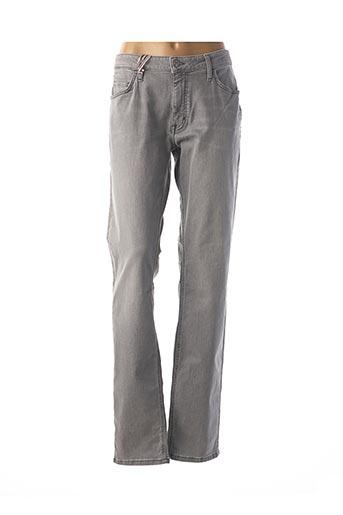 Jeans coupe slim gris MUSTANG pour femme