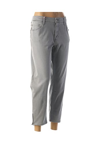 Pantalon 7/8 gris MUSTANG pour femme