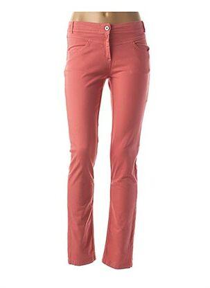 Pantalon casual rose MAE MAHE pour femme