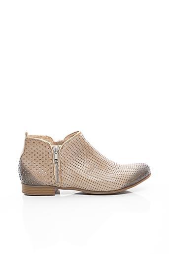 Bottines/Boots beige REMONTE pour femme