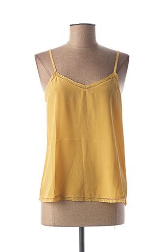 Top jaune BELLA JONES pour femme