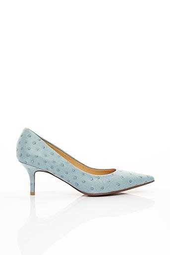 Escarpins bleu AUGUSTE pour femme