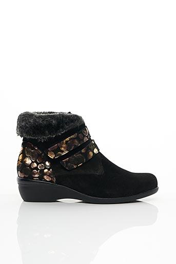 Bottines/Boots noir COMFORT CLASS pour femme
