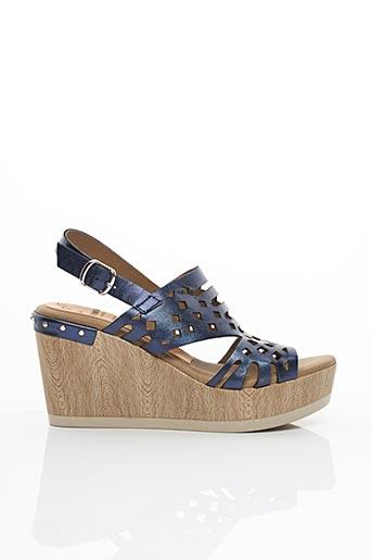 Sandales/Nu pieds bleu DORKING pour femme