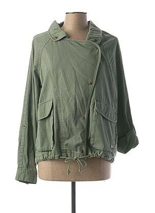 Veste casual vert ROXY pour femme