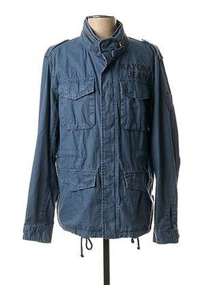 Veste en jean bleu KAPORAL pour homme