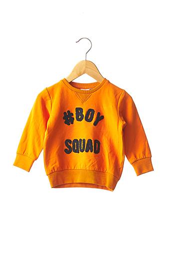Sweat-shirt orange NAME IT pour garçon