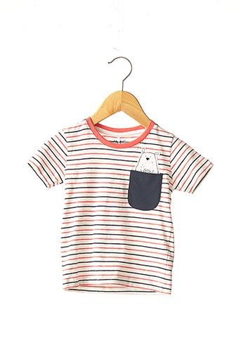 T-shirt manches courtes rose NAME IT pour enfant