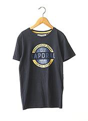 T-shirt manches courtes bleu KAPORAL pour garçon seconde vue
