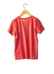 T-shirt manches courtes rouge NAME IT pour garçon seconde vue