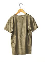 T-shirt manches courtes vert KAPORAL pour garçon seconde vue