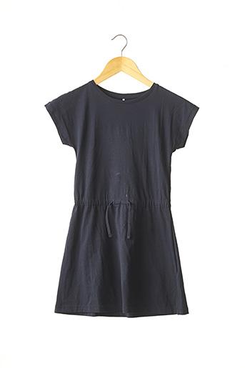 Robe mi-longue bleu NAME IT pour fille