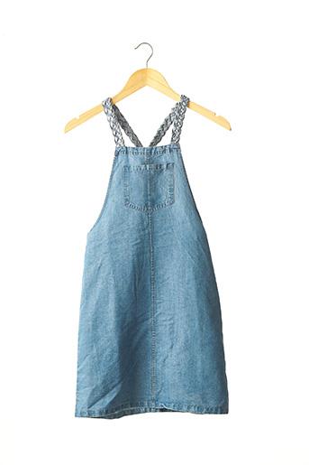 Robe mi-longue bleu TEDDY SMITH pour fille