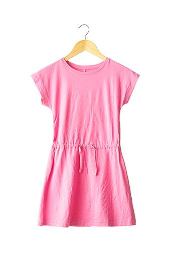 Robe mi-longue rose NAME IT pour fille