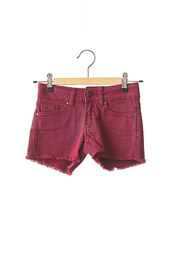 Short rouge TEDDY SMITH pour fille